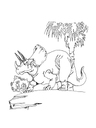 free printable triceratops coloring pages for kids