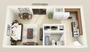 One Bedroom Apartments Knoxville Apartments Marvelous Efficiency Apartment Ideas 300 Apartments