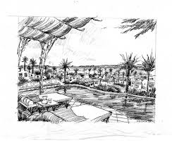 michael lungren pencil and ink sketches