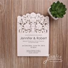 vintage lace wedding invitations vintage lace inspired laser cut wedding invitations wfl0109