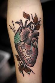 35 marvelous heart tattoo ideas