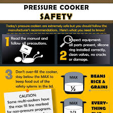 infographic pressure cooker safety tips hip pressure cooking