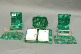 Green Desk Accessories by Malachite Desk Set Offices U0026 Workspaces Pinterest Malachite