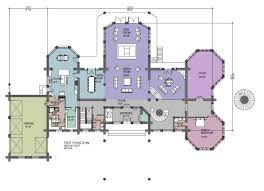 log homes plans luxury log home floor plans hawkeye 15281 sq ft luxury log home