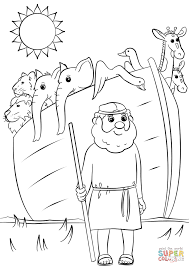 noah u0027s ark animals two by two coloring page free printable