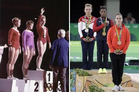 the summer olympics now and then