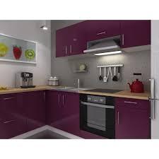 meuble de cuisine laqué meuble de cuisine laque aubergine décoration d intérieur table