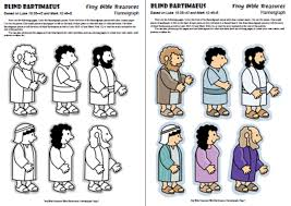 Bartholomew The Blind Man Sunday Crafts For Blind Bartimaeus Bible Crafts And