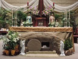 church decorations for easter julian s he is risen
