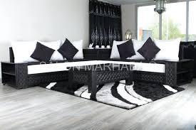 canape angle noir et blanc canap noir et blanc design simple best canape angle gris et blanc