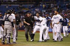 rays beat yankees 6 1 as jeter gets hit cbs tampa