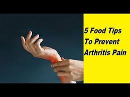 5 food tips to prevent arthritis pain arthritis diet youtube