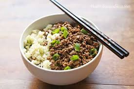 Healthy Food With Ground Beef