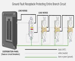 ground fault breaker wiring diagram dolgular com