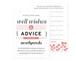 wedding well wishes well wishes advice favor card my wedding favors