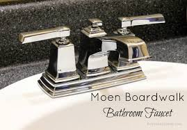 moen boardwalk bathroom faucet chrome