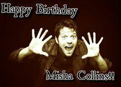 Supernatural Birthday Meme - happy birthday misha collins gif supernatural amino app misha