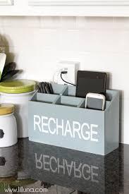 homemade charging station diy charging station