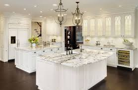 Ice Granite White Cabinets Backsplash Ideas - Backsplash with white cabinets