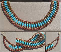 beaded collar necklace images Egyptian beaded collar necklace by llyzabeth jpg