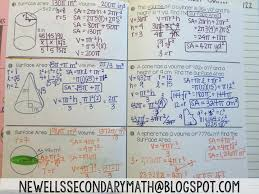 mtbos30 cones cylinders u0026 spheres mrs newell u0027s math