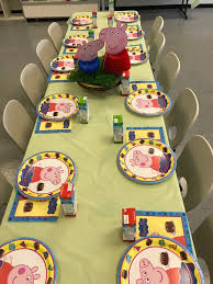 peppa pig birthday party happy kid party