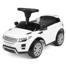 white land rover childrens range rover ride on car available at this is it stores uk