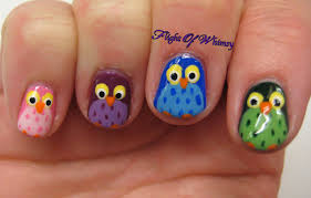 owl of a different color flight of whimsy