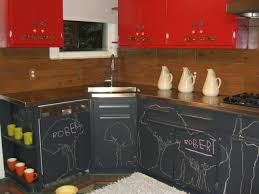 kitchen chalkboard paint kitchen cabinets tableware
