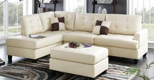 sofa unforeseen stimulating buchannan faux leather sectional