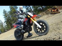 remote control motocross bike rc adventures ghost rider 1st running vid venom vmx 450 dirt