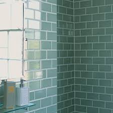ideas for tiling bathrooms 30 pictures for glossy subway tile in a shower