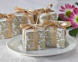 boxes for wedding favors classic damask gold white favor boxes damask boxes couplesoncakes