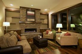 Family Room  Contemporary Family Room Seattle By Six - Family room walls