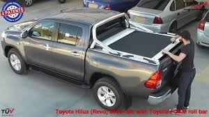 land cruiser pickup accessories at www accessories 4x4 com toyota hilux revo 2016 oem roll bar