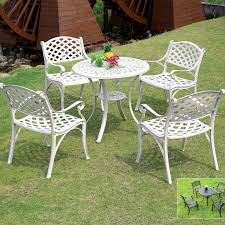 aluminum outdoor coffee tables and chairs combination of outdoor