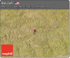 beulah dakota map free satellite map of beulah