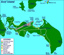 map of the bvi map of beef island in the bvi