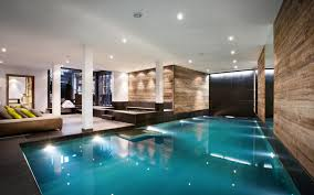 the pool at the lodge sir richard branson u0027s luxury ski chalet in