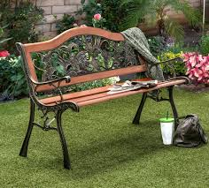 Hillarys Blinds Phone Number Fleur De Lis Living Hillary Outdoor Garden Bench U0026 Reviews Wayfair