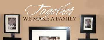 together we make a family wall letters stickers words quotes decal together we make a family wall letters stickers words quotes decal lettering decor