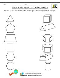 shapes worksheets first grade worksheets