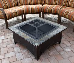 Wood Firepits Az Patio Heaters Pit With Square Table Wood