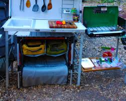 outdoor camping kitchen station campland outdoor portable cook
