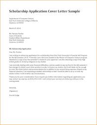 scholarships letter format format