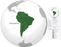 Map Of Countries In South America by South America Map