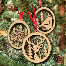 tinksky merry christmas wooden embellishments plain wood crafts