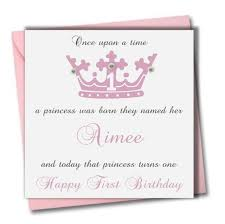 personalised granddaughter 1st birthday cards personalised