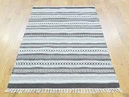 Flat Rug 3 U0027x5 U0027 Flat Weave Striped Reversible Kilim Hand Woven Oriental Rug