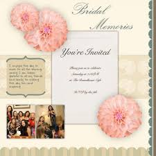 bridal shower photo album scrapbook ideas for bridal shower invitations weddings